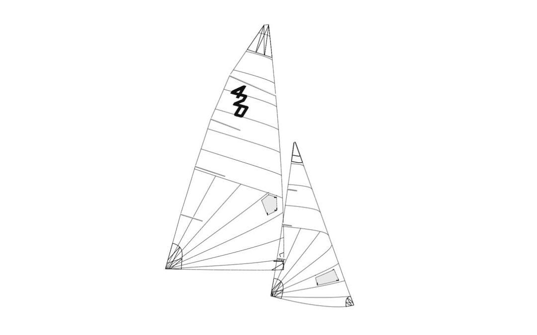 Testate le prime vele per la Classe 420