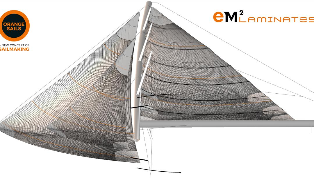 Orange Sails per il Southern Wind 95 DHARMA