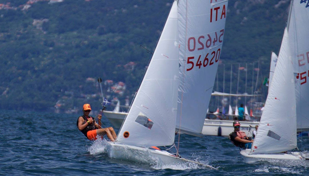 Dynamic sail for 420 class